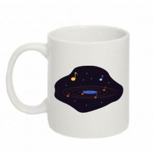 Kubek 330ml Muzyczna galaktyka