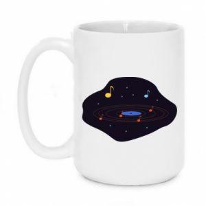 Kubek 450ml Muzyczna galaktyka