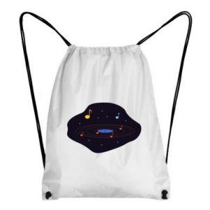 Plecak-worek Muzyczna galaktyka