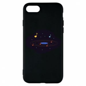 Etui na iPhone 7 Muzyczna galaktyka