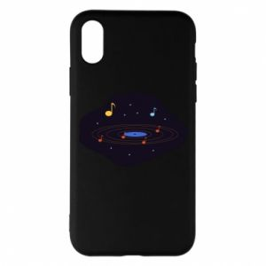 Etui na iPhone X/Xs Muzyczna galaktyka