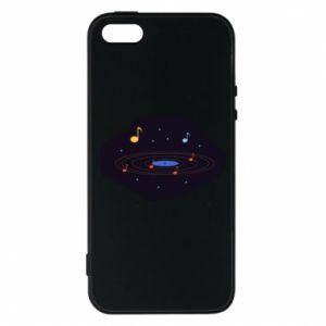 Etui na iPhone 5/5S/SE Muzyczna galaktyka