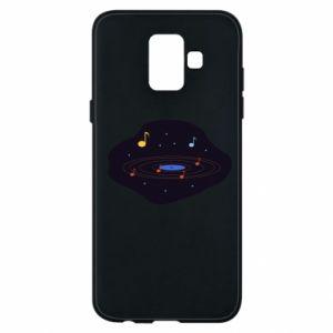 Etui na Samsung A6 2018 Muzyczna galaktyka