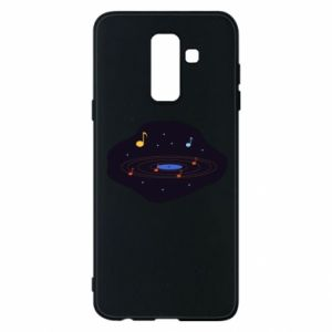 Etui na Samsung A6+ 2018 Muzyczna galaktyka