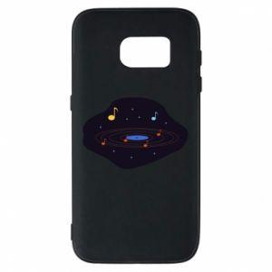 Etui na Samsung S7 Muzyczna galaktyka