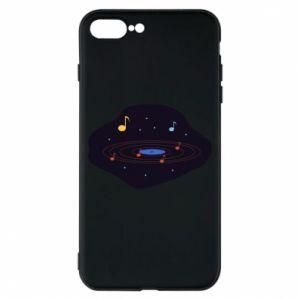 Etui na iPhone 8 Plus Muzyczna galaktyka