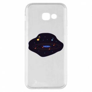 Etui na Samsung A5 2017 Muzyczna galaktyka