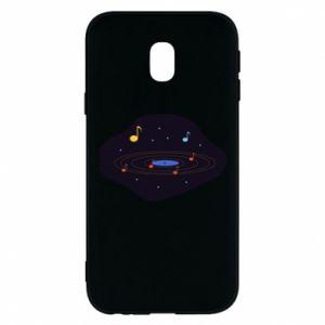 Etui na Samsung J3 2017 Muzyczna galaktyka