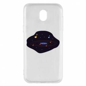 Etui na Samsung J5 2017 Muzyczna galaktyka