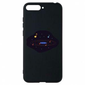 Etui na Huawei Y6 2018 Muzyczna galaktyka