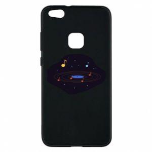 Etui na Huawei P10 Lite Muzyczna galaktyka