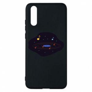 Etui na Huawei P20 Muzyczna galaktyka