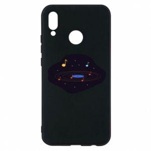 Etui na Huawei P20 Lite Muzyczna galaktyka