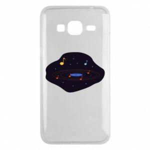 Etui na Samsung J3 2016 Muzyczna galaktyka