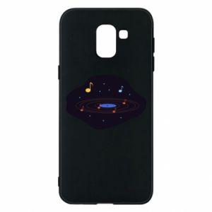Etui na Samsung J6 Muzyczna galaktyka