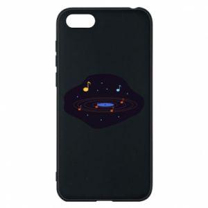 Etui na Huawei Y5 2018 Muzyczna galaktyka
