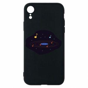 Etui na iPhone XR Muzyczna galaktyka