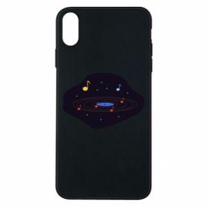 Etui na iPhone Xs Max Muzyczna galaktyka