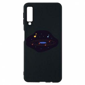 Etui na Samsung A7 2018 Muzyczna galaktyka