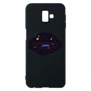 Etui na Samsung J6 Plus 2018 Muzyczna galaktyka