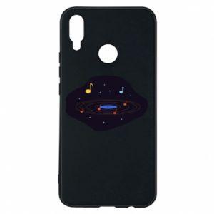 Etui na Huawei P Smart Plus Muzyczna galaktyka