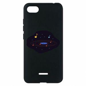 Etui na Xiaomi Redmi 6A Muzyczna galaktyka