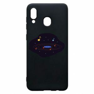Etui na Samsung A20 Muzyczna galaktyka