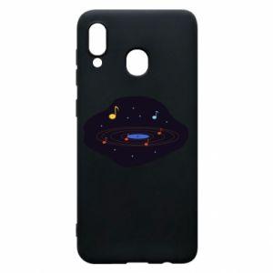 Etui na Samsung A30 Muzyczna galaktyka