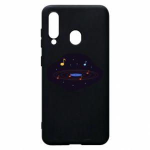 Etui na Samsung A60 Muzyczna galaktyka