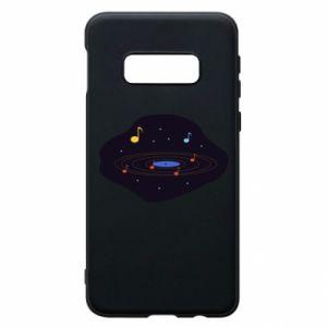 Etui na Samsung S10e Muzyczna galaktyka