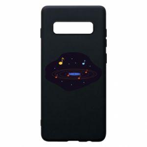 Etui na Samsung S10+ Muzyczna galaktyka