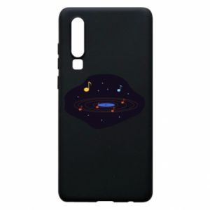 Etui na Huawei P30 Muzyczna galaktyka