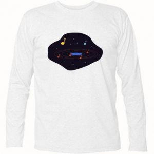 Koszulka z długim rękawem Muzyczna galaktyka