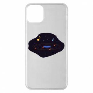 Etui na iPhone 11 Pro Max Muzyczna galaktyka