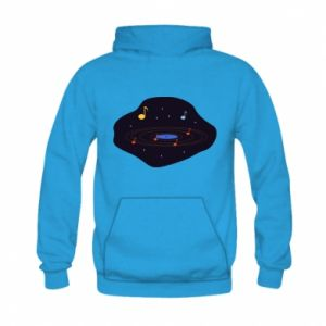 Bluza z kapturem dziecięca Muzyczna galaktyka