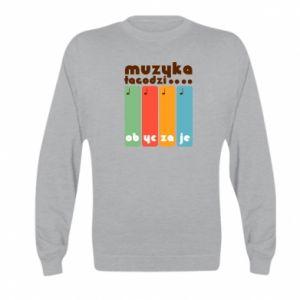 Bluza dziecięca Muzyka łagodzi