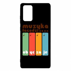 Etui na Samsung Note 20 Muzyka łagodzi