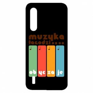 Etui na Xiaomi Mi9 Lite Muzyka łagodzi