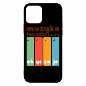 Etui na iPhone 12/12 Pro Muzyka łagodzi