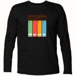 Koszulka z długim rękawem Muzyka łagodzi