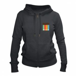 Women's zip up hoodies Music is soothing