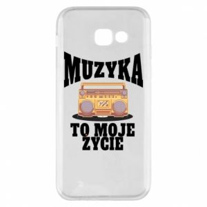 Phone case for Samsung A5 2017 Music is my life