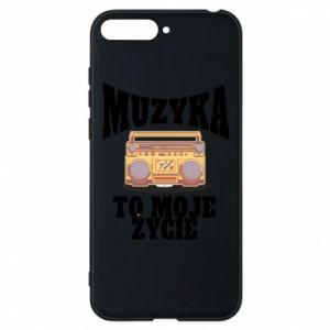 Phone case for Huawei Y6 2018 Music is my life
