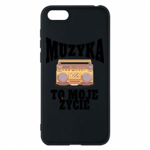 Phone case for Huawei Y5 2018 Music is my life