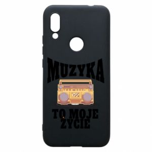 Phone case for Xiaomi Redmi 7 Music is my life