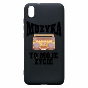 Phone case for Xiaomi Redmi 7A Music is my life