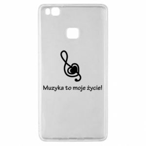 Etui na Huawei P9 Lite Muzyka to moje życie!
