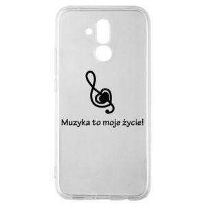 Etui na Huawei Mate 20 Lite Muzyka to moje życie!