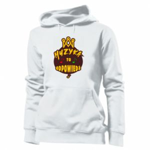 Women's hoodies Music is the answer