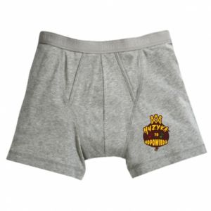Boxer trunks Music is the answer